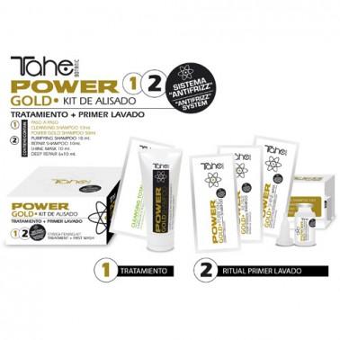 Kit de Alisado Capilar Tahe Power Gold 100 ml -Sorci _3