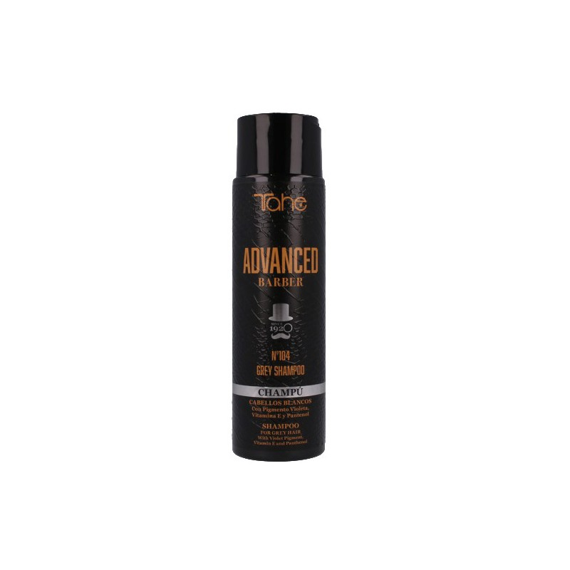 Champú Cabellos Blancos Advanced Barber Nº 104 Tahe 300 ml-Sorci