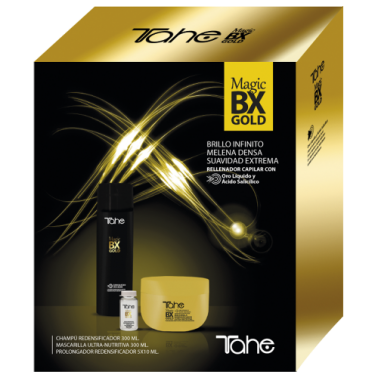 Pack Magic Bx Gold Tahe ( Champú + Mascarilla + Ampollas )- Sorci