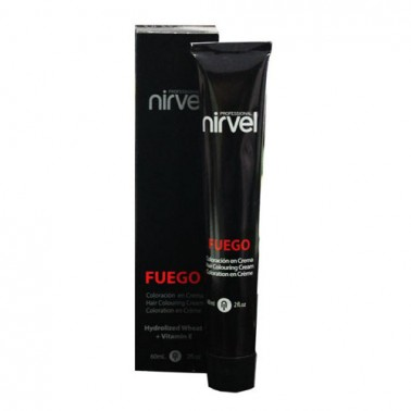 Tinte Nirvel Fuego F55 Rojo 60 ml