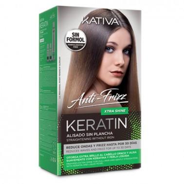 Tratamiento Anti-Frizz Kativa Alisado Sin Plancha Xtra Shine-Sorci