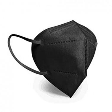 Mascarilla FFP2 Bolsa Individual Negra 1ud-Sorci