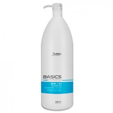 Champú Ácido Ph 5.5 Slobel Basics 1500 ml - Sorci