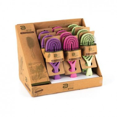 Cepillo Ovalado Eco Biodegradable Asuer - colores - Sorci