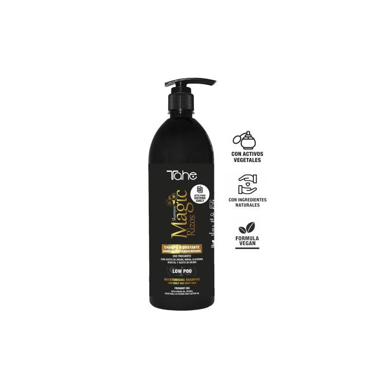 Champú Hidratante Magic Rizos Curly Low Poo Tahe 1000 ml-sorci