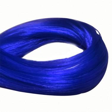 Malla Fantasía De Pelo Sintético Azul Oscuro-Sorci