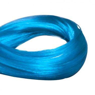 Malla Fantasía De Pelo Sintético Azul Claro-Sorci
