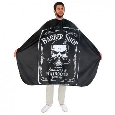 Capa De Corte Poliéster Barber Line  - Capas Barbería Sorci