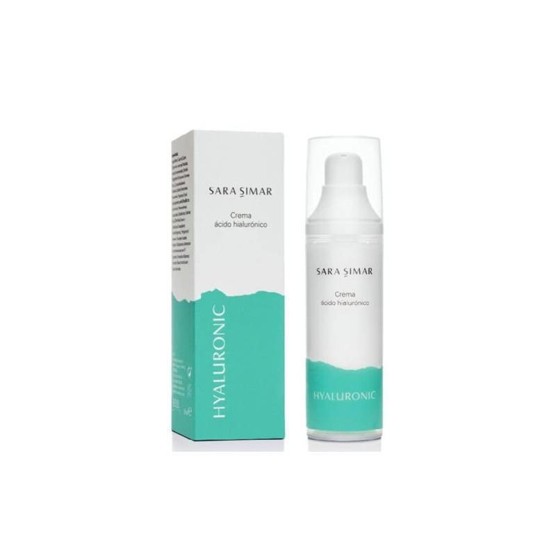 Crema Facial Ácido Hialurónico Hyaluronic Sara Simar 50 ml-Sorci