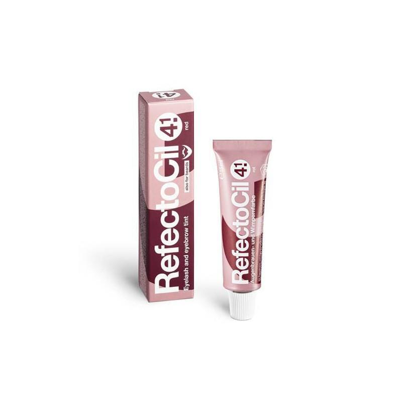 Tinte Pestañas Y Cejas Refectocil Nº 4.1 Rojo 15 ml-sorci
