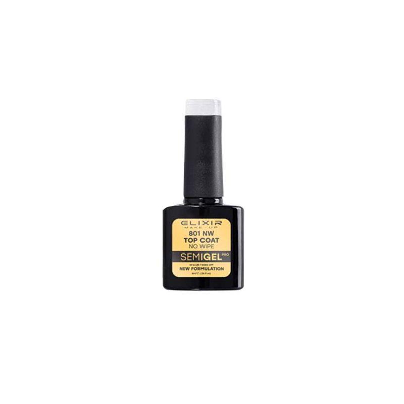 Esmalte Permanente De Uñas Elixir Semi Gel Nº 801 Top Coat-Sorci