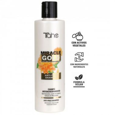 Champú Antiencrespamiento Miracle Gold Tahe 300 ml-Sorci