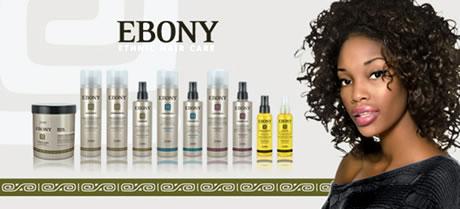 productos peluqueria ebony