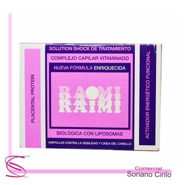 complejo capilar vitaminado raimi