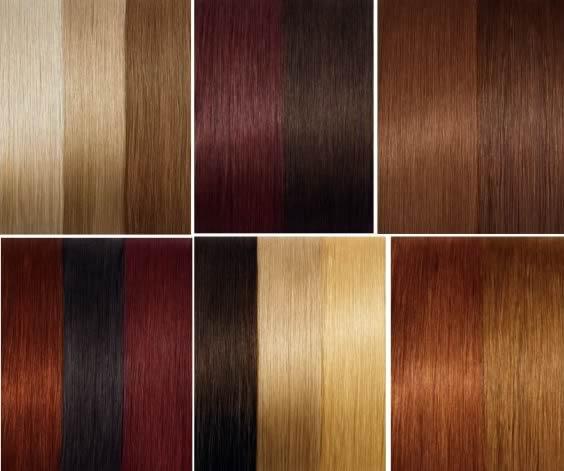 tipos de tintes para cabello
