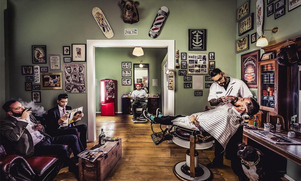 tienda barbería profesional